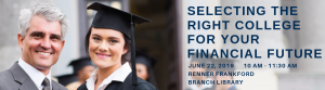 Selecting the Right College for your Financial Future