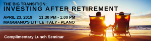 investing after retirement 1