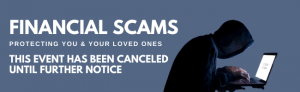 FInancial Scams 2020 cancelation