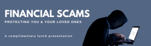 Financial Scams 2020 even reg page